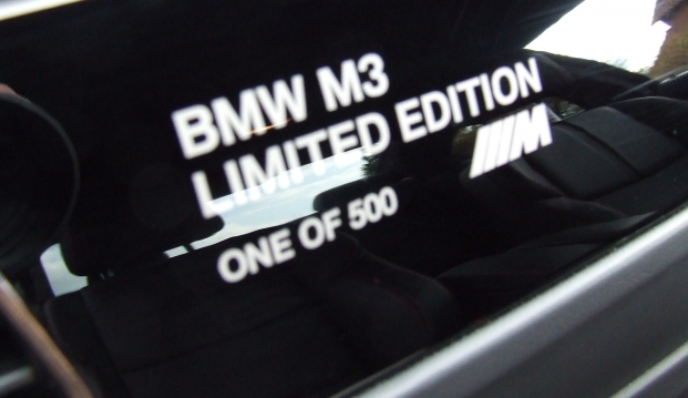 BMW M3 Limited Edition 500 DCT: m3r13