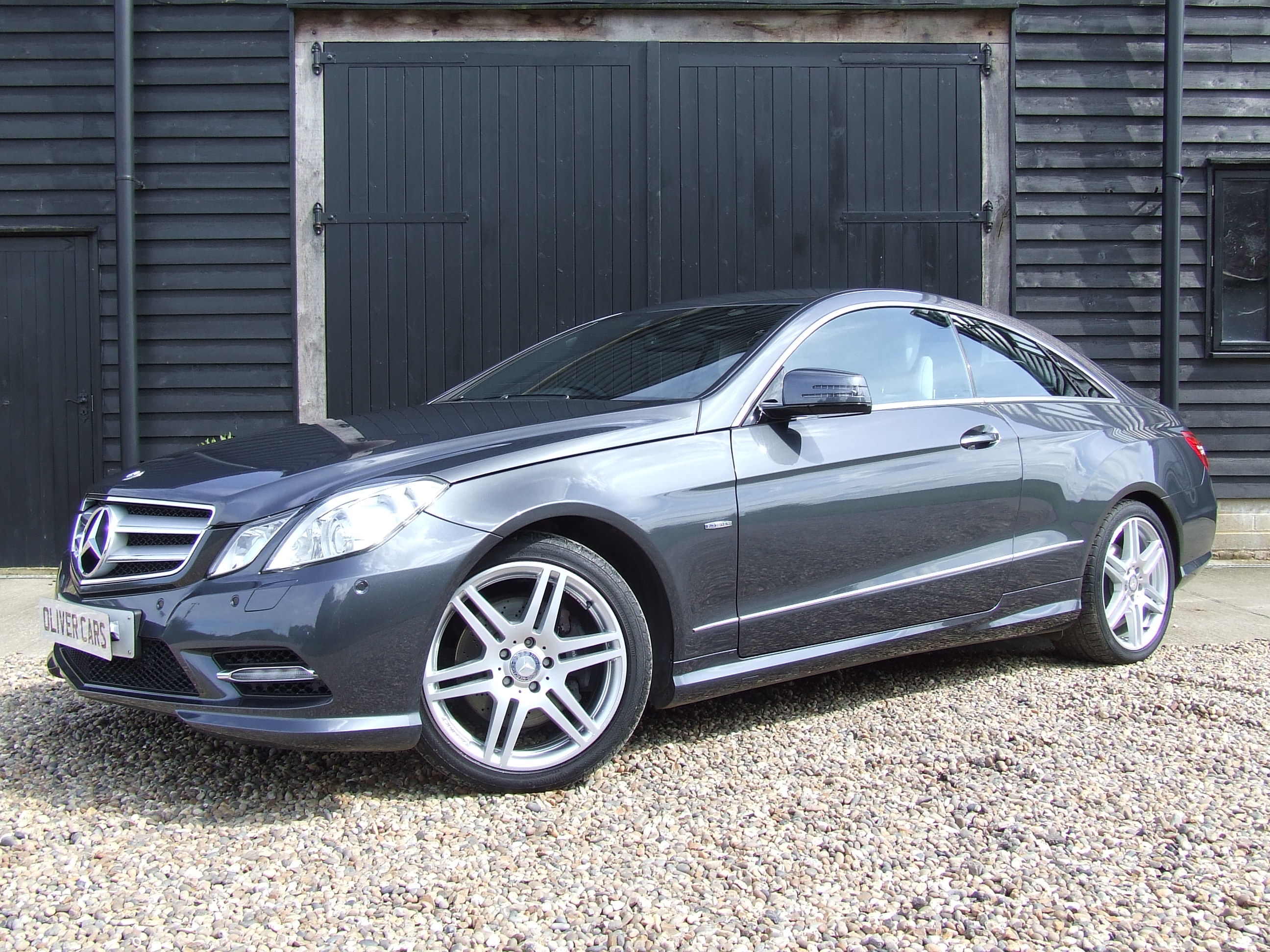 mercedes e350 cdi blue efficiency sport 7g tronic coupe oliver cars ltd. Black Bedroom Furniture Sets. Home Design Ideas