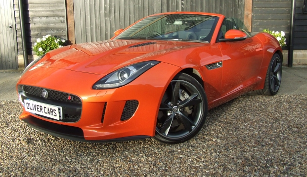 Jaguar F-Type V6 Roadster