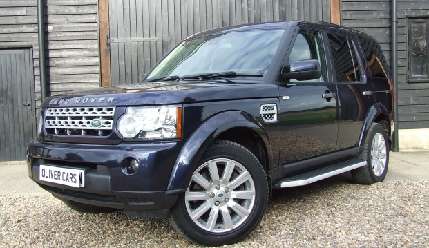 Land Rover Discovery 4 XS SDV6: fob2