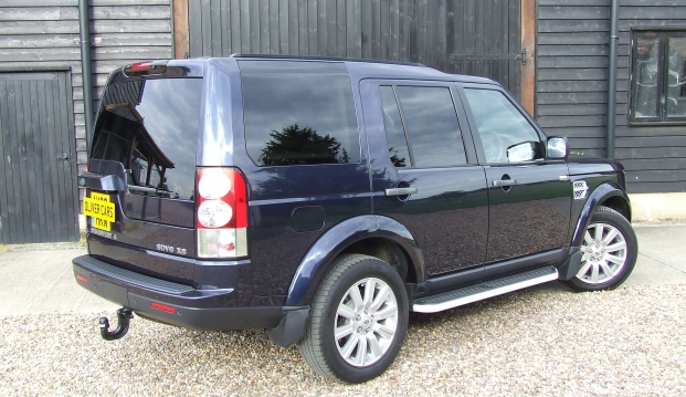 Land Rover Discovery 4 XS SDV6: fob5