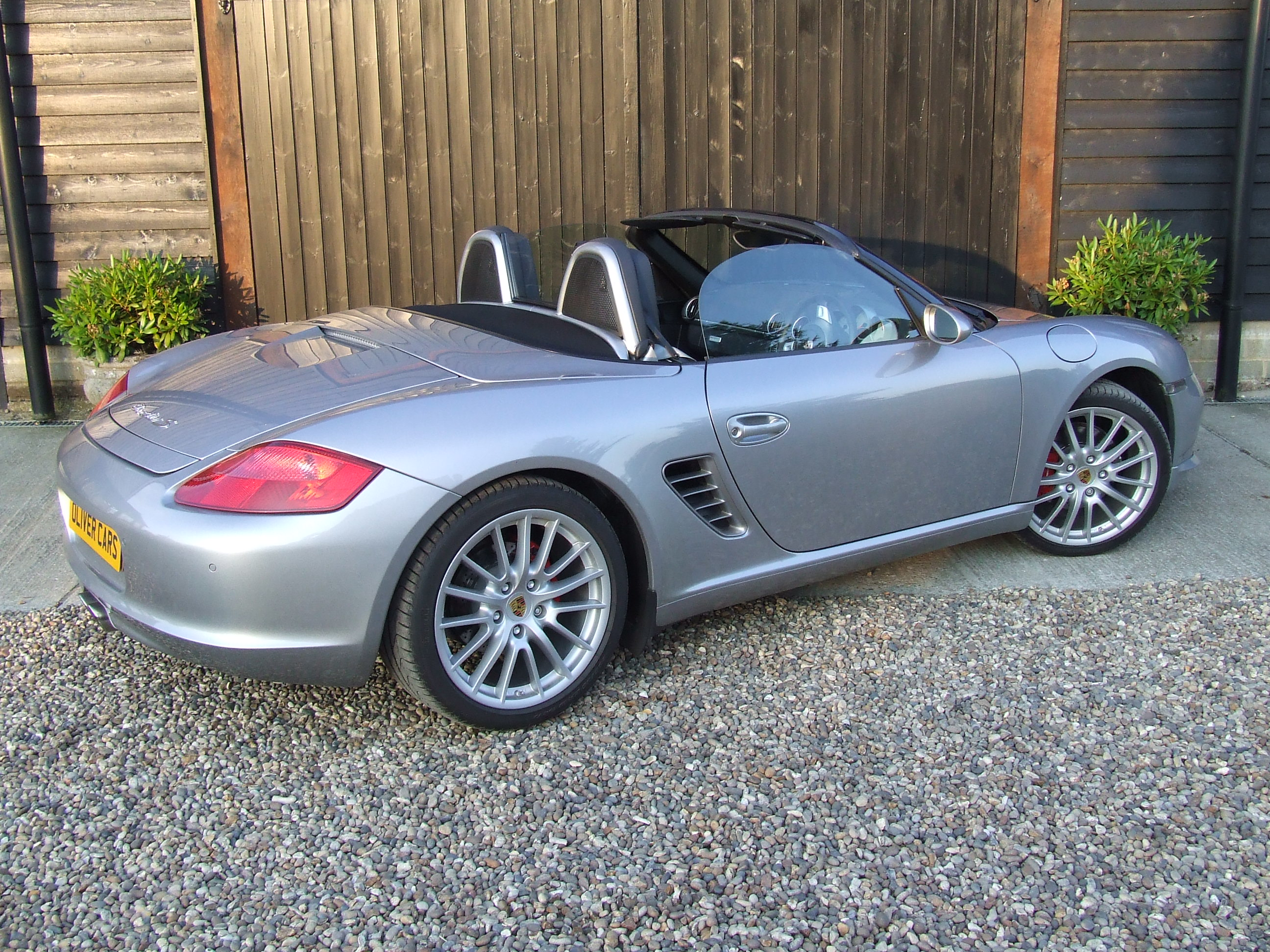 Porsche Boxster S Rs60 Limited Edition Spyder Oliver