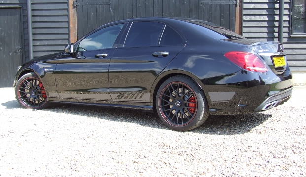 Mercedes C63 Edition One S: ed4