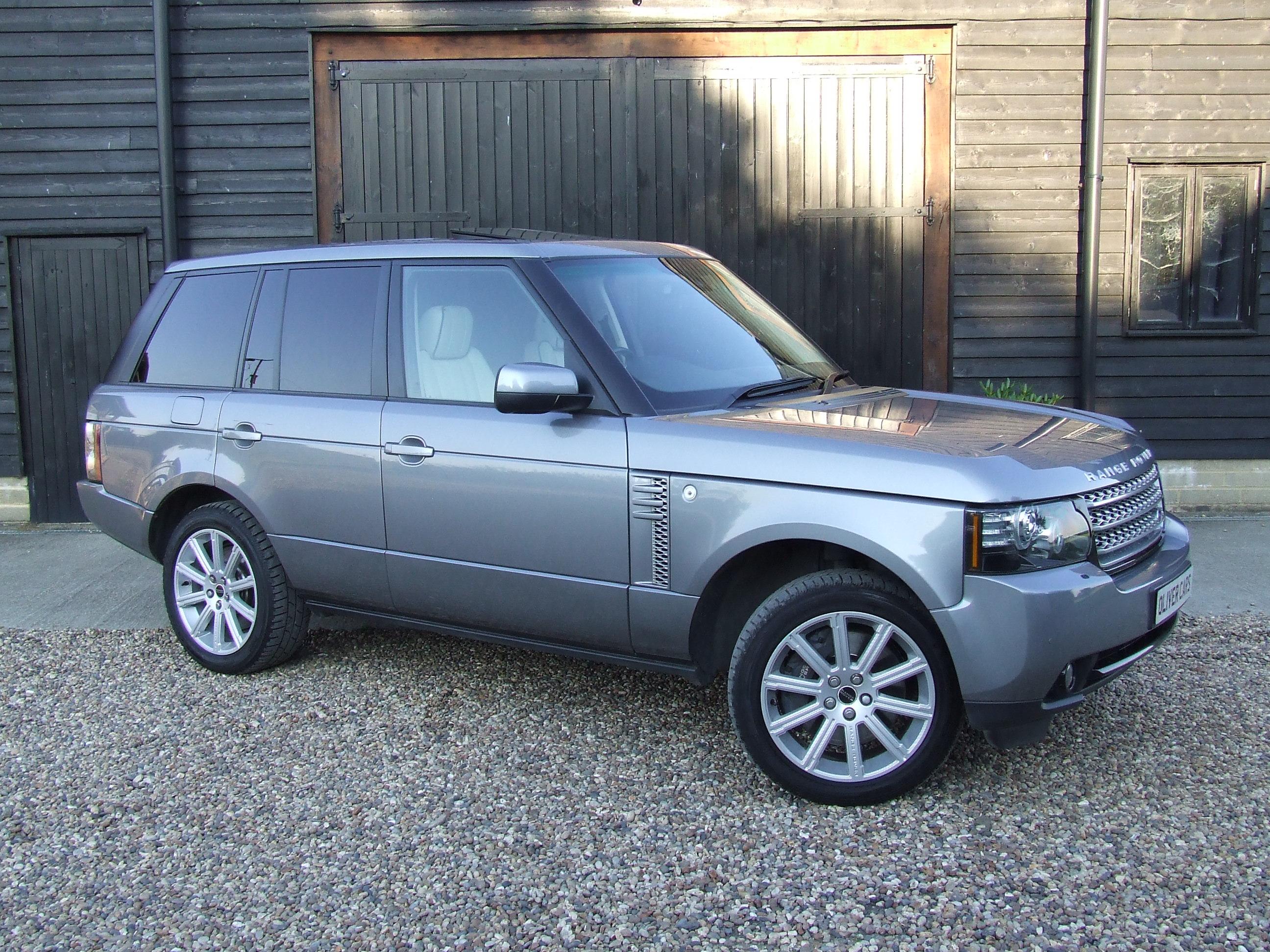 range rover vogue tdv8 4 4 oliver cars ltd. Black Bedroom Furniture Sets. Home Design Ideas