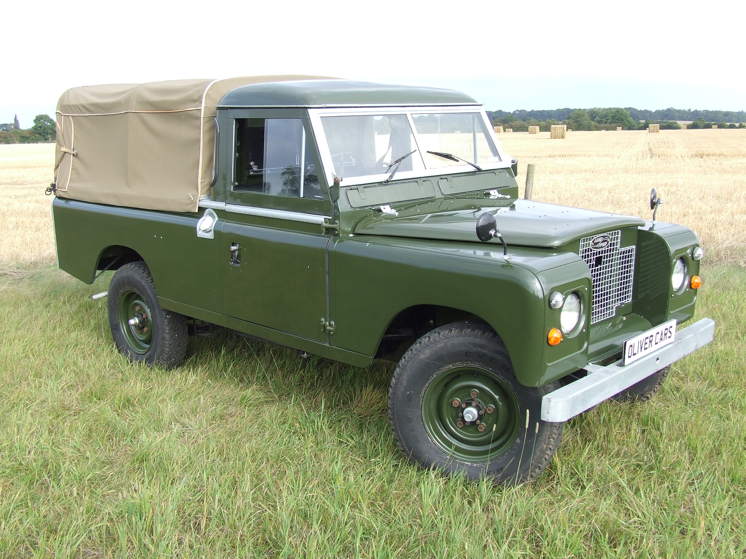 land rover series 2 a 109 pick up oliver cars ltd. Black Bedroom Furniture Sets. Home Design Ideas