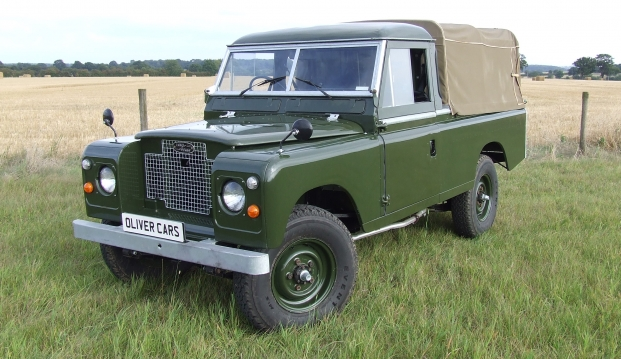 Land Rover Series 2 A 109 Pick Up: lr2