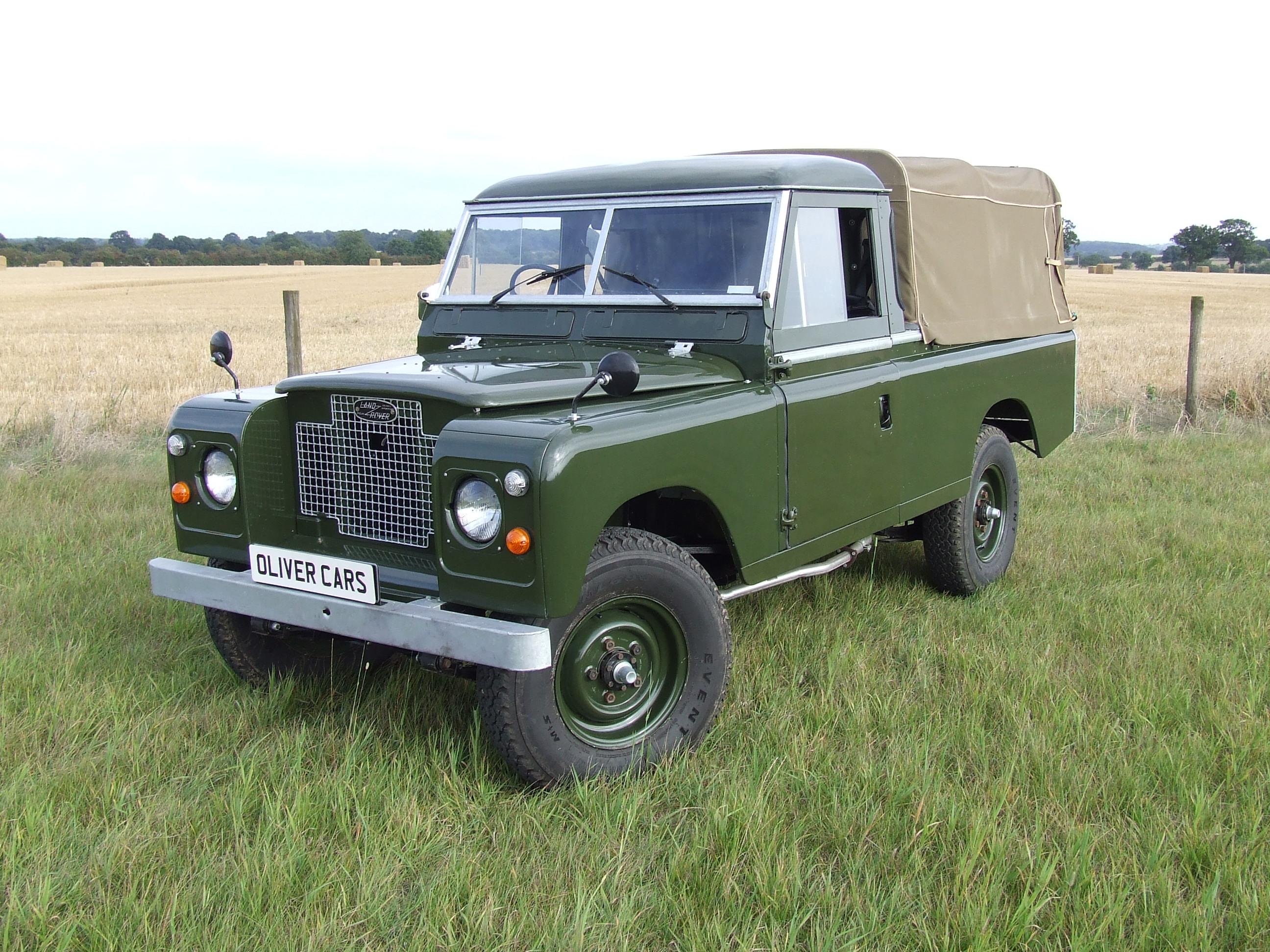 land rover series 2 a 109 pick up oliver cars ltd. Black Bedroom Furniture Sets. Home Design Ideas