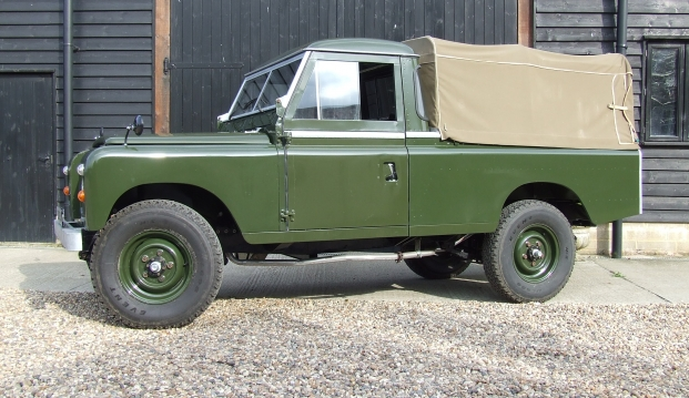 Land Rover Series 2 A 109 Pick Up: lr4
