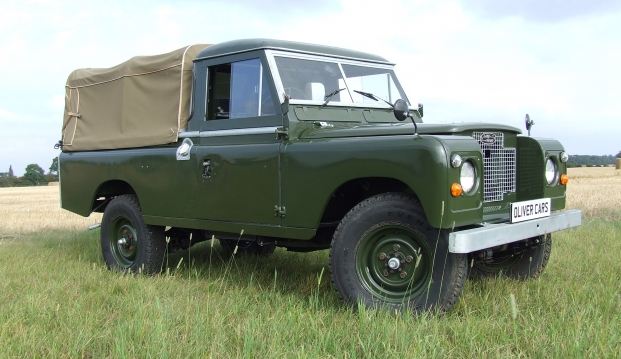 Land Rover Series 2 A 109 Pick Up: lr5