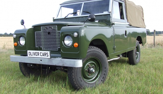 Land Rover Series 2 A 109 Pick Up: lr6