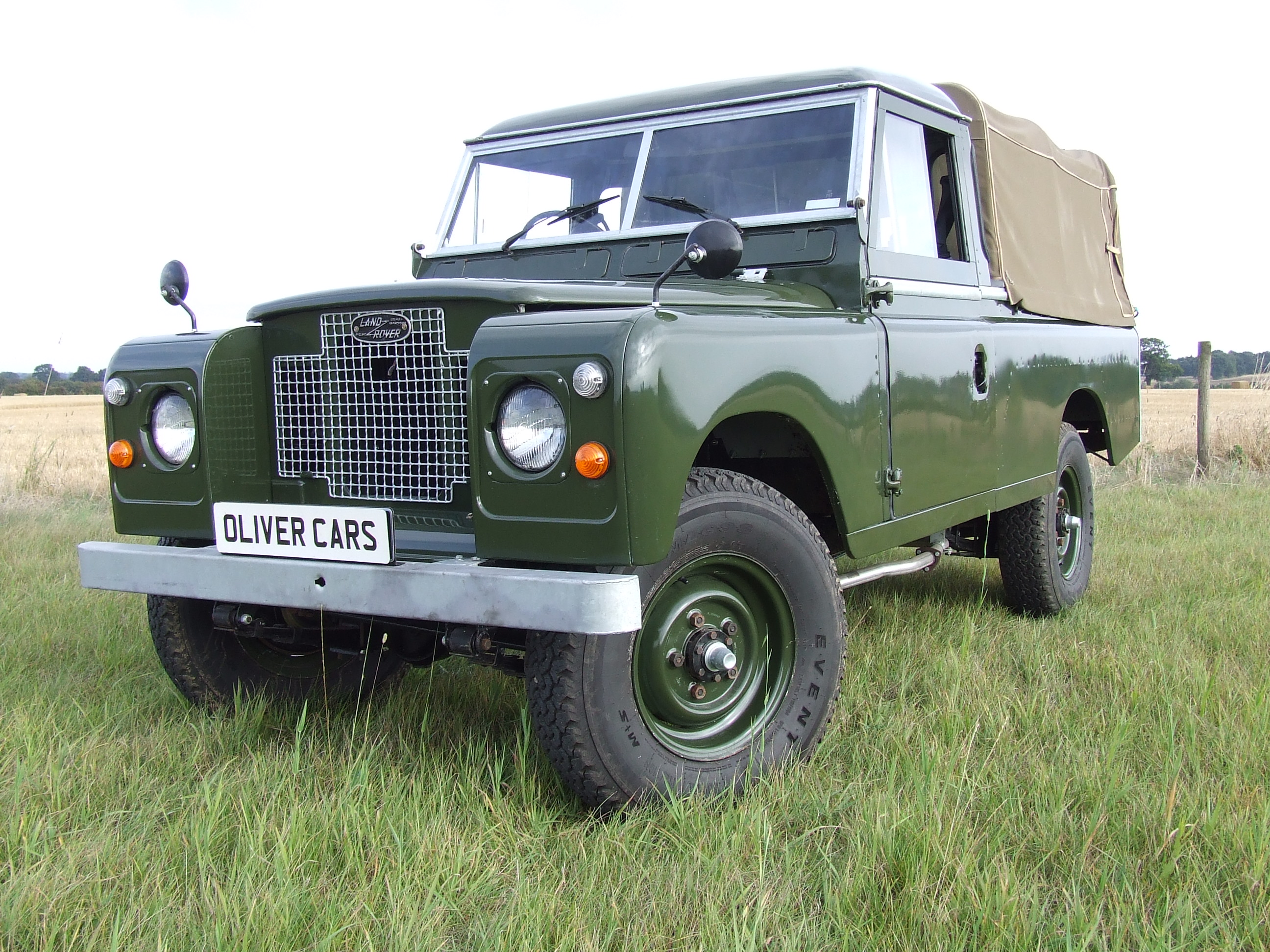 Land Rover Series 2 A 109 Pick Up Oliver Cars Ltd