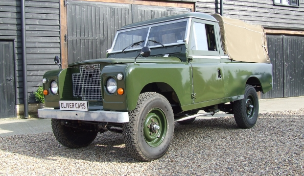 Land Rover Series 2 A 109 Pick Up: lr7