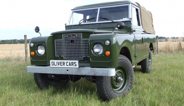 Land Rover Series 2 A 109 Pick Up: lr14