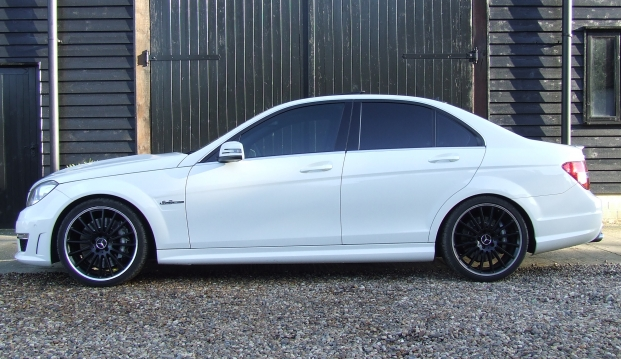 Mercedes C63 AMG Saloon 125 Edition : c634