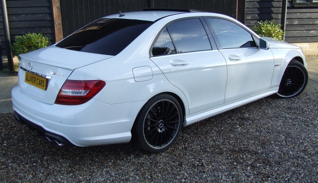Mercedes C63 AMG Saloon 125 Edition : c637