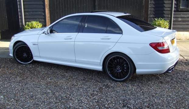 Mercedes C63 AMG Saloon 125 Edition : c638