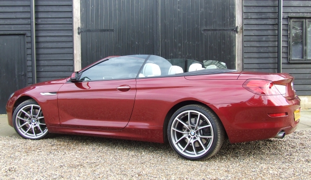 BMW 640i SE Turbo Convertible: 64011