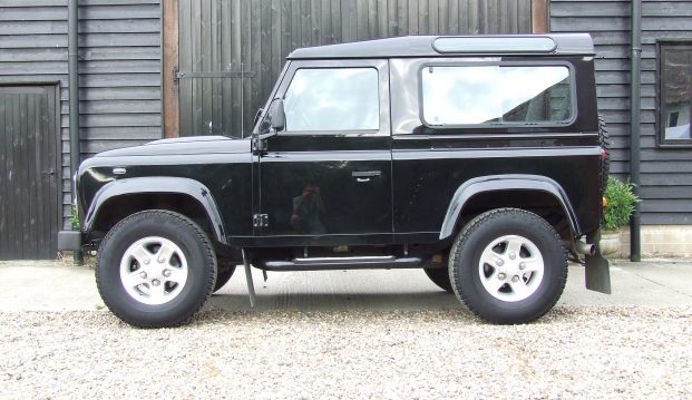 Land Rover Defender 90 XS County Station Wagon: l4