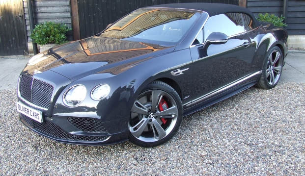 Bentley Continental GTC Speed 6.0 W12