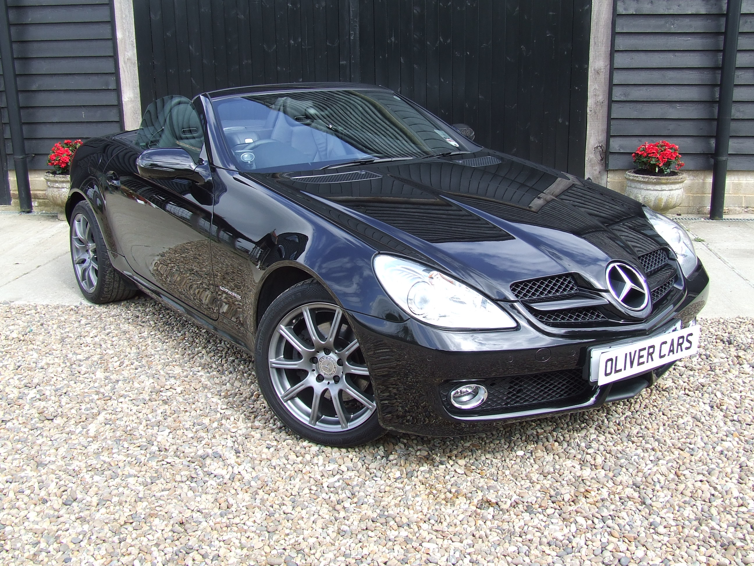 mercedes slk 200 kompressor oliver cars ltd. Black Bedroom Furniture Sets. Home Design Ideas