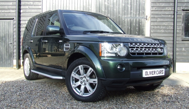 Land Rover Discovery 4 TDV6 3.0 XS: disc1