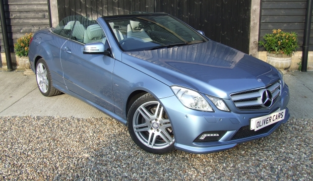 Mercedes E250 CGI Blue Efficiency Sport Cabriolet